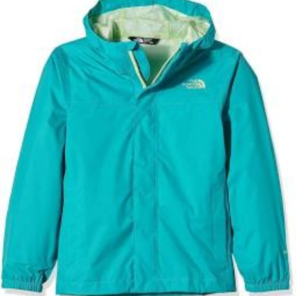 34e6cb4a9c65 North Face Girl s Zipline Raincoat Jacket 2244